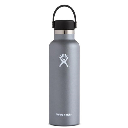 21 Oz. Standard Mouth Water Bottle, Graphite, swatch