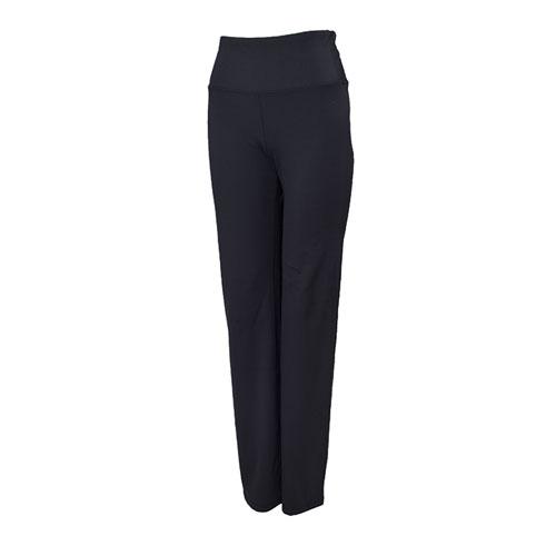 Women's High Waist Lux Straight Leg Yoga Pant, Black, swatch