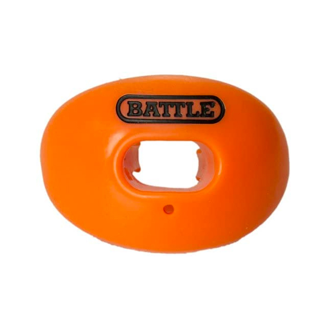 Oxygen Lip Protector Mouthguard, Orange, swatch