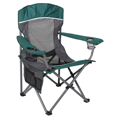 Mesh Big Boy Chair, GREEN/GRAY, swatch