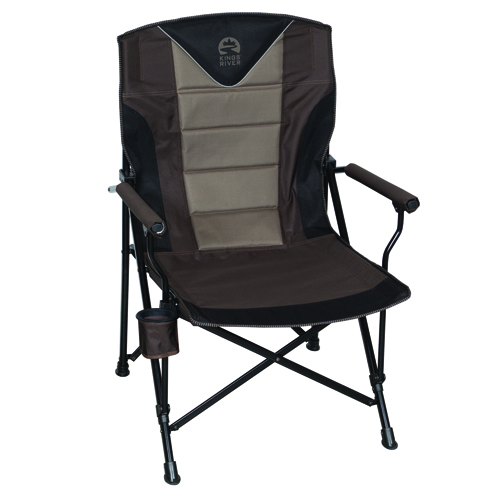 Monster Hard Arm Chair, Brown, swatch