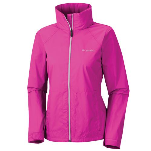 Women's Rainwear Switchback Jacket, Hot Pink,Fuscia,Magenta, swatch