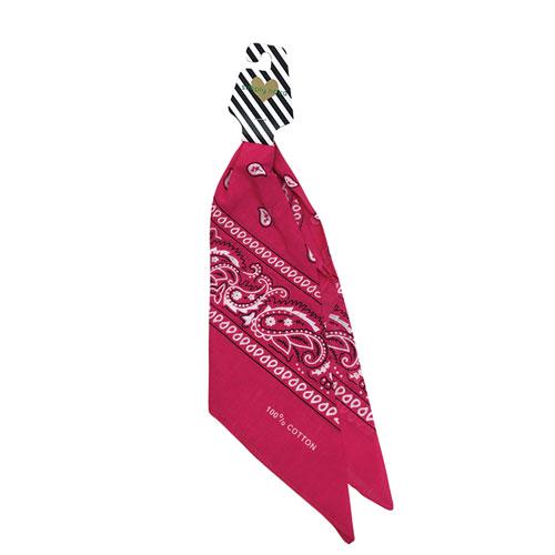 Traditional Bandana, Hot Pink,Fuscia,Magenta, swatch
