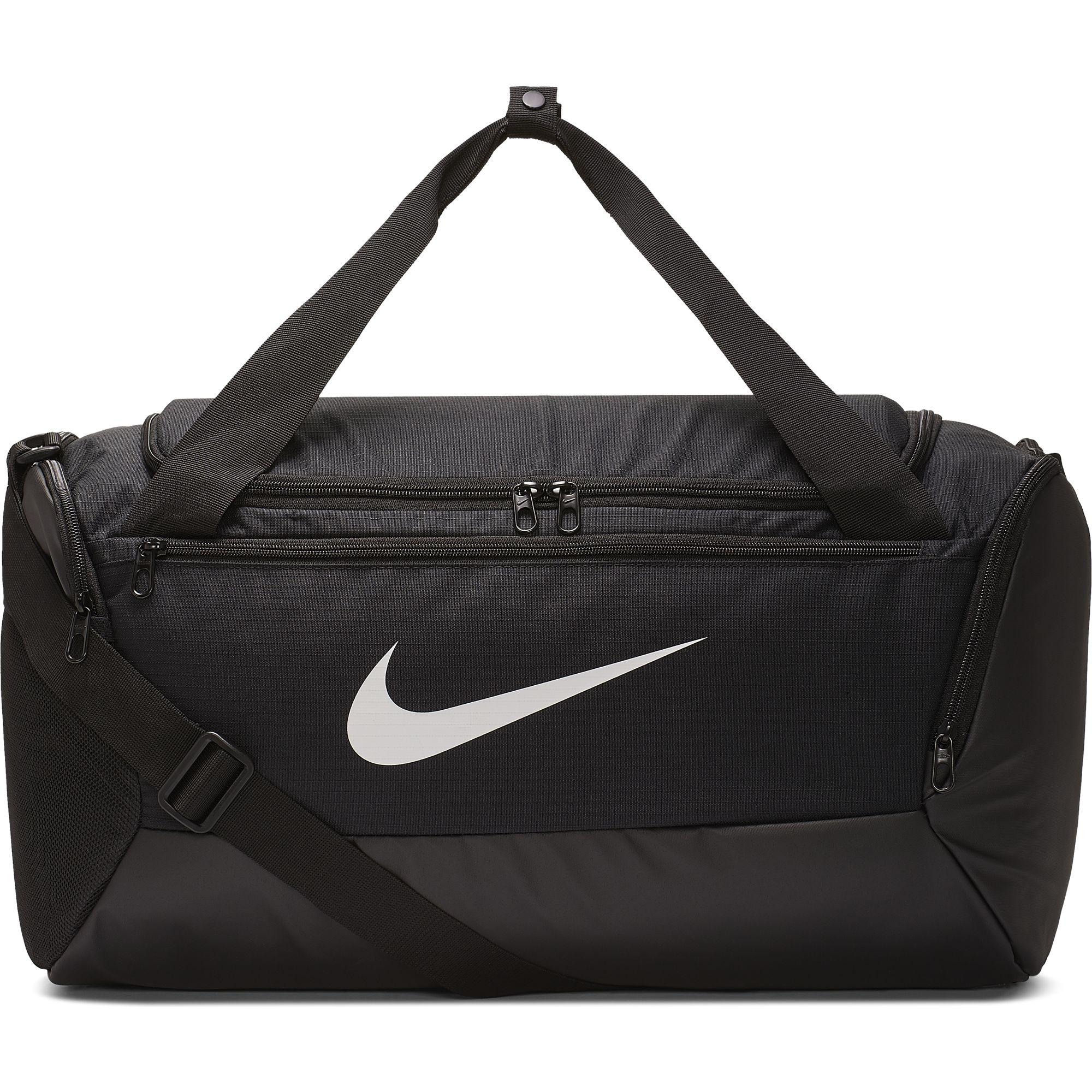 Brasilia Small Training Duffell Bag, Black/Black, swatch