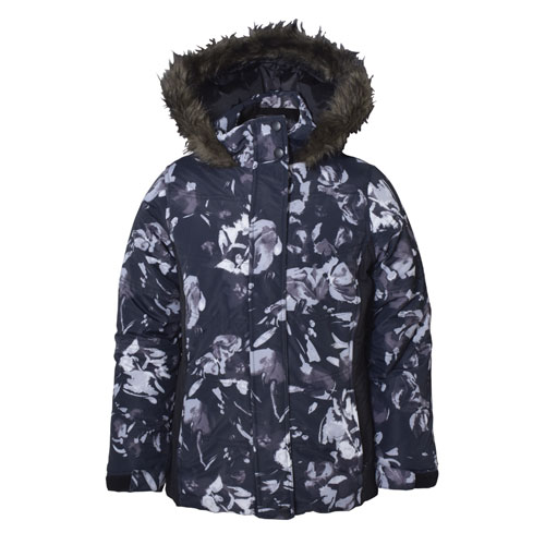 Girl's Aspen Calling Jacket, Floral, large