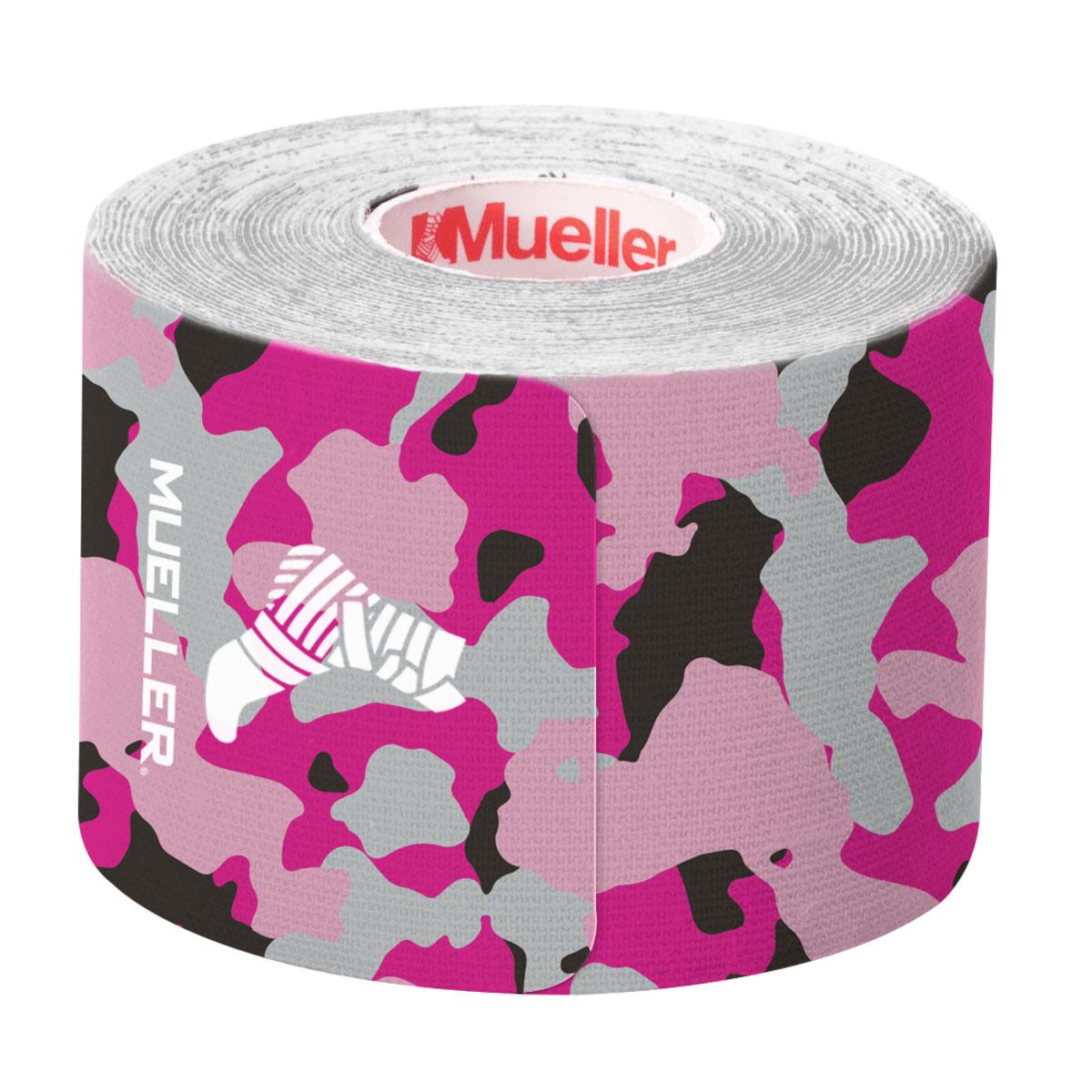 Kinesiology Tape Pre-Cut I-Strips, Pink Camo, swatch