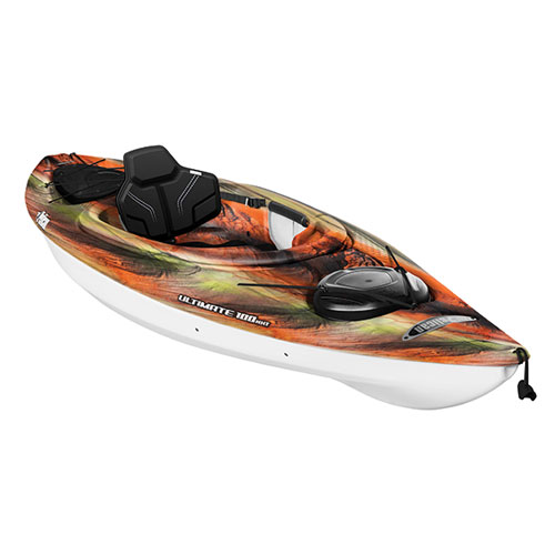 Ultimate 100NXT Sit-In Kayak, Red/Brown, swatch