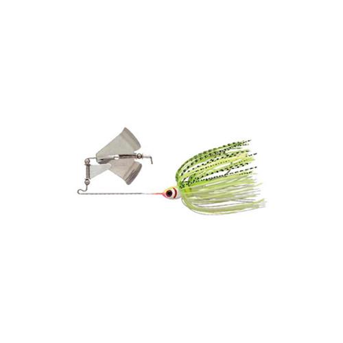 Pradco Lures Clacker Buzzbait, Chartreuse/White, swatch