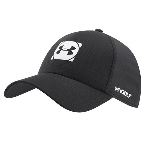 Men's Official Tour Cap 3.0 Golf Cap, Black/White, swatch
