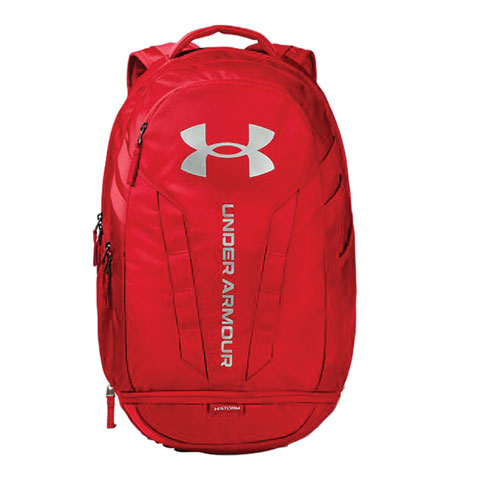 Hustle Backpack, Red, swatch