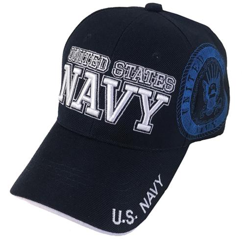 US Navy Cap, Navy/White, swatch