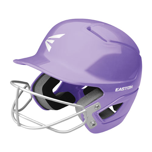 Tee Ball Alpha Fast Pitch Helmet with Mask, Lilac,Lavendar, swatch