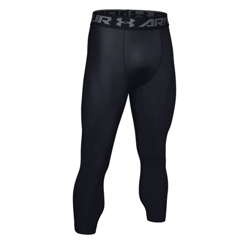 Men's Heargear Armour 2.0 3/4 Leggings, Black, swatch