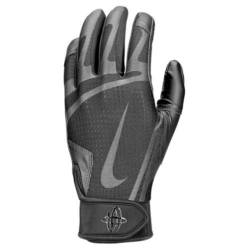 Men's Huarache Edge Batting Gloves, Black, swatch