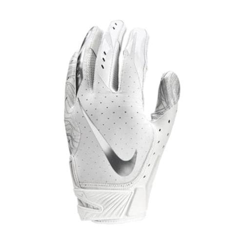 Men's Vapor Jet 5.0 Football Gloves, White, swatch