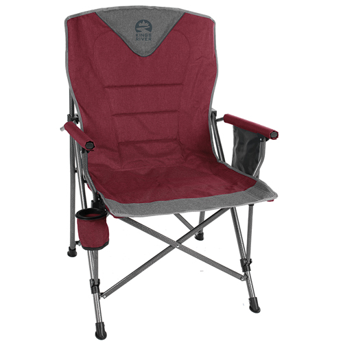 Monster Hard Arm Chair, Red, swatch