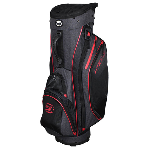 Men's 14 Way Cart Bag, Black/Gray, swatch
