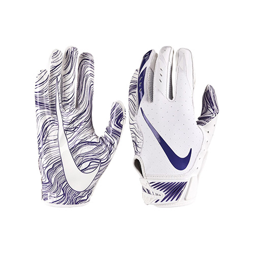 Youth Vapor Jet 5.0 Football Gloves, Royal Bl,Sapphire,Marine, swatch