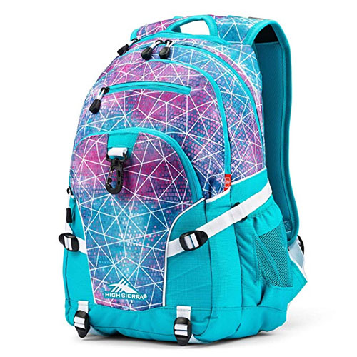 Loop Daypack, Teal/White, swatch