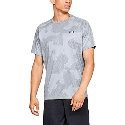 Men's Tech 2.0 Short Sleeve Printed T-Shirt, Heather Gray, swatch