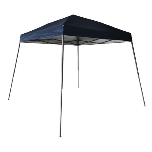 10X10 Slant Leg Canopy, Black, swatch