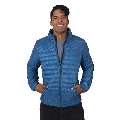 Men's All Day Puffy Jacket, Blue, swatch