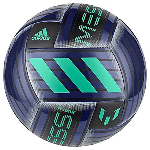 Messi Capitano Soccer Ball, Blue/Black, swatch