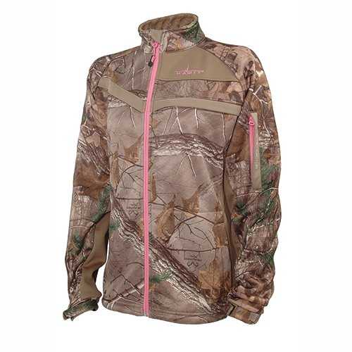 Women's Techshell Elite Jacket, Realtree Xtra, swatch