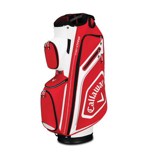 Chev Org Cart Bag, Red/Black/White, swatch