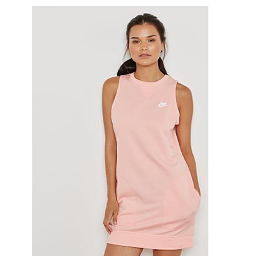 Women's Sleeveless Sportswear Dress, Coral, swatch
