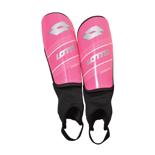 Youth Spectrum Shin Guards, Pink/White, swatch