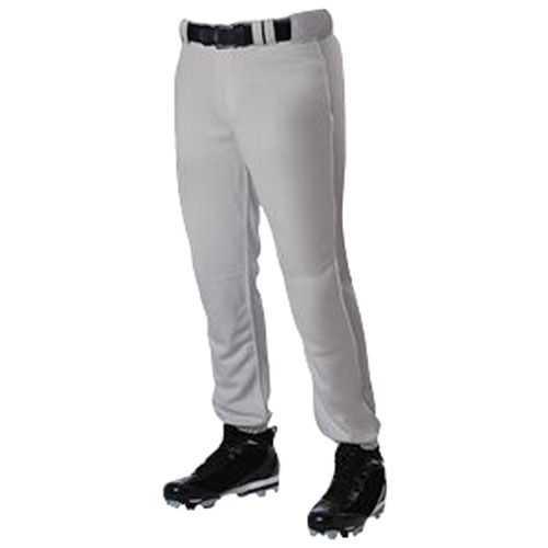 Adult Pro Cut Baseball Pant, Gray, swatch