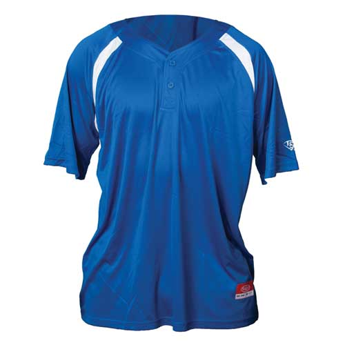 Youth Slugger Solid Short Sleeve Shirt, Royal Bl,Sapphire,Marine, swatch
