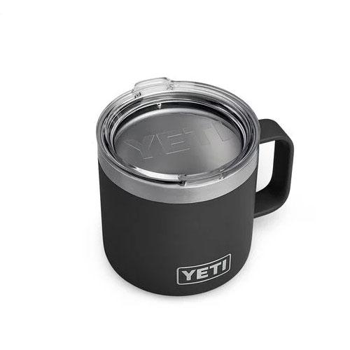 14 Oz. Color Mug, Black, swatch