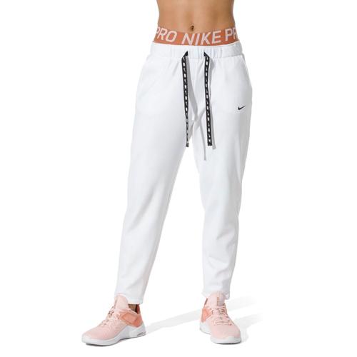 Women's Therma Fleece Training Pant, White, swatch