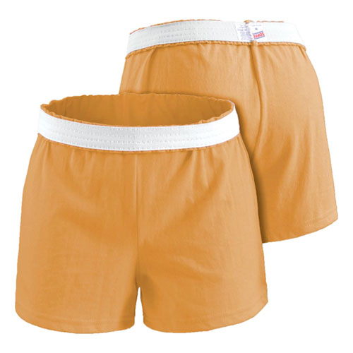 Women's Cheer Shorts, Orange, swatch