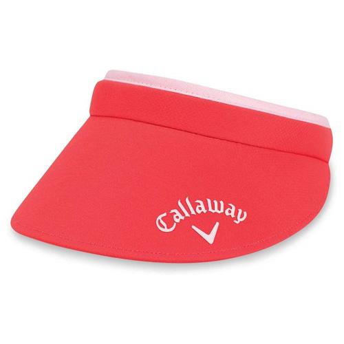 Women's Clip Visor, Pink, swatch
