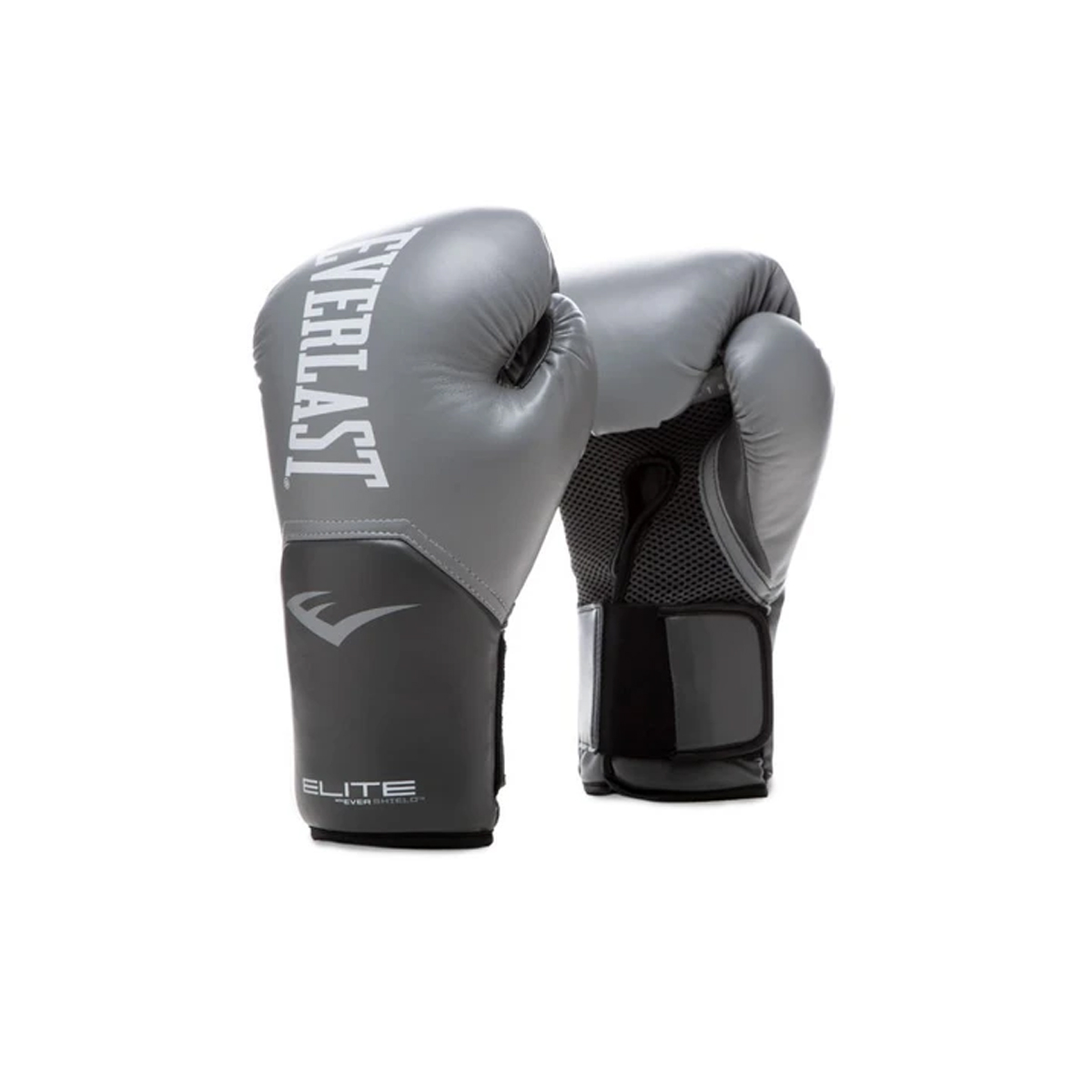 Pro-Style Elite Boxing Gloves, Gray, swatch