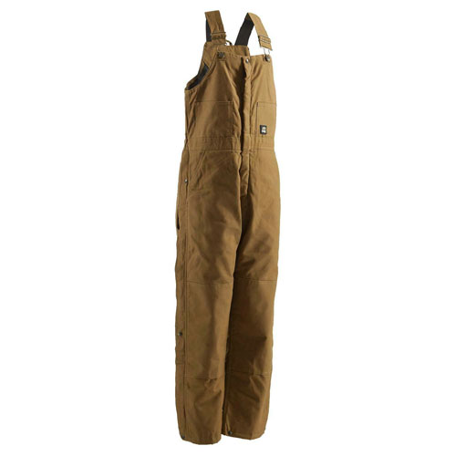Deluxe Insulated Bib Overalls, Brown, swatch