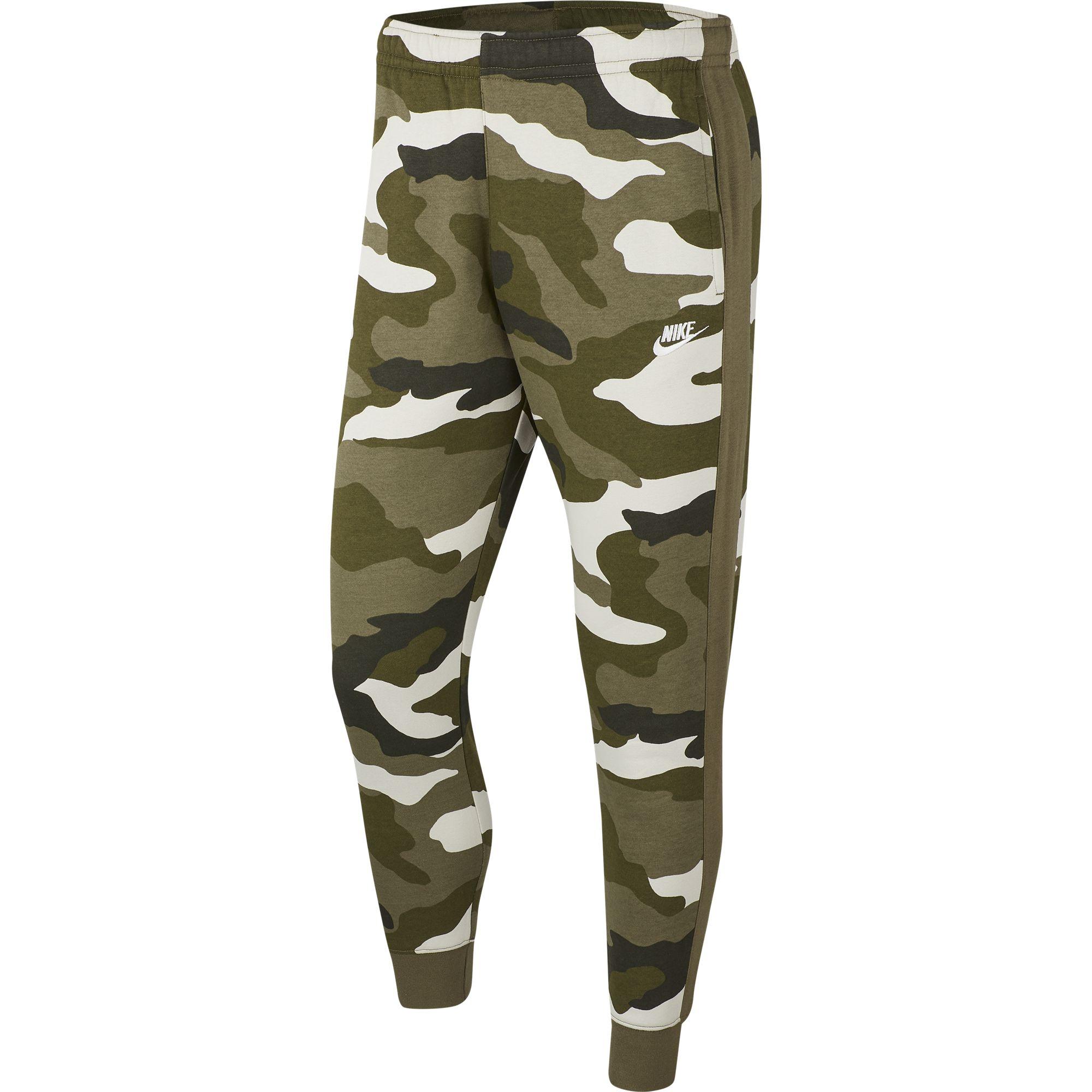 Men's Sportswear Club Camo Joggers, Dkgreen,Moss,Olive,Forest, swatch