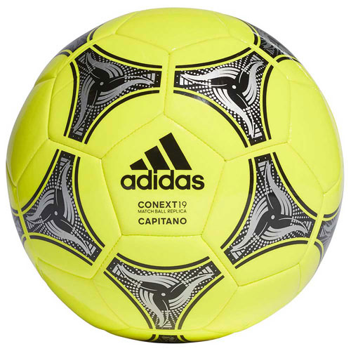 Conext 19 Glider Soccer Ball, Yellow/Black, swatch